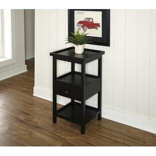 Affordable Price Merrimac End Table ByBreakwater Bay