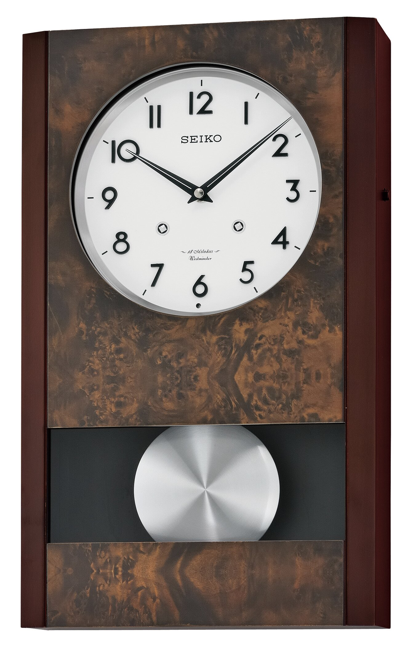 Seiko Melbourne Musical Wall Clock Wayfair