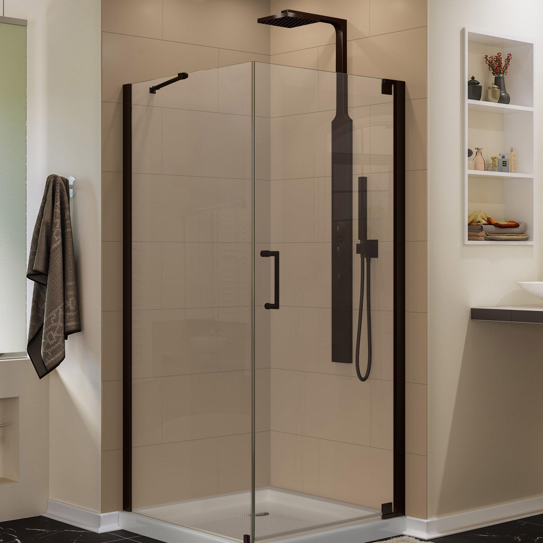 Dreamline Elegance 32 X 72 Pivot Frameless Shower Door With Clear