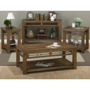 Ada 4 Piece Coffee Table Set Loon Peak