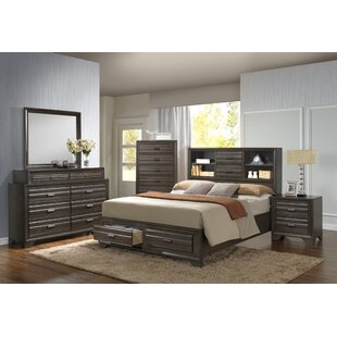 Lane 8 Drawer Double Dresser with Mirror by Bloomsbury Market