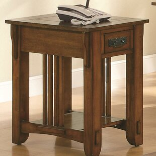 Alcantar Transitional End Table with Storage by Darby Home Co