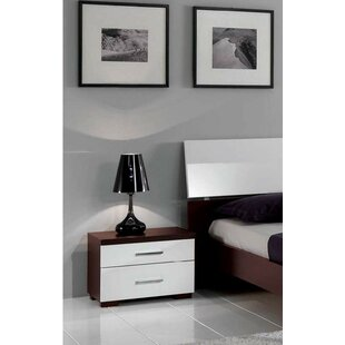 Beckworth 2 Drawer Nightstand