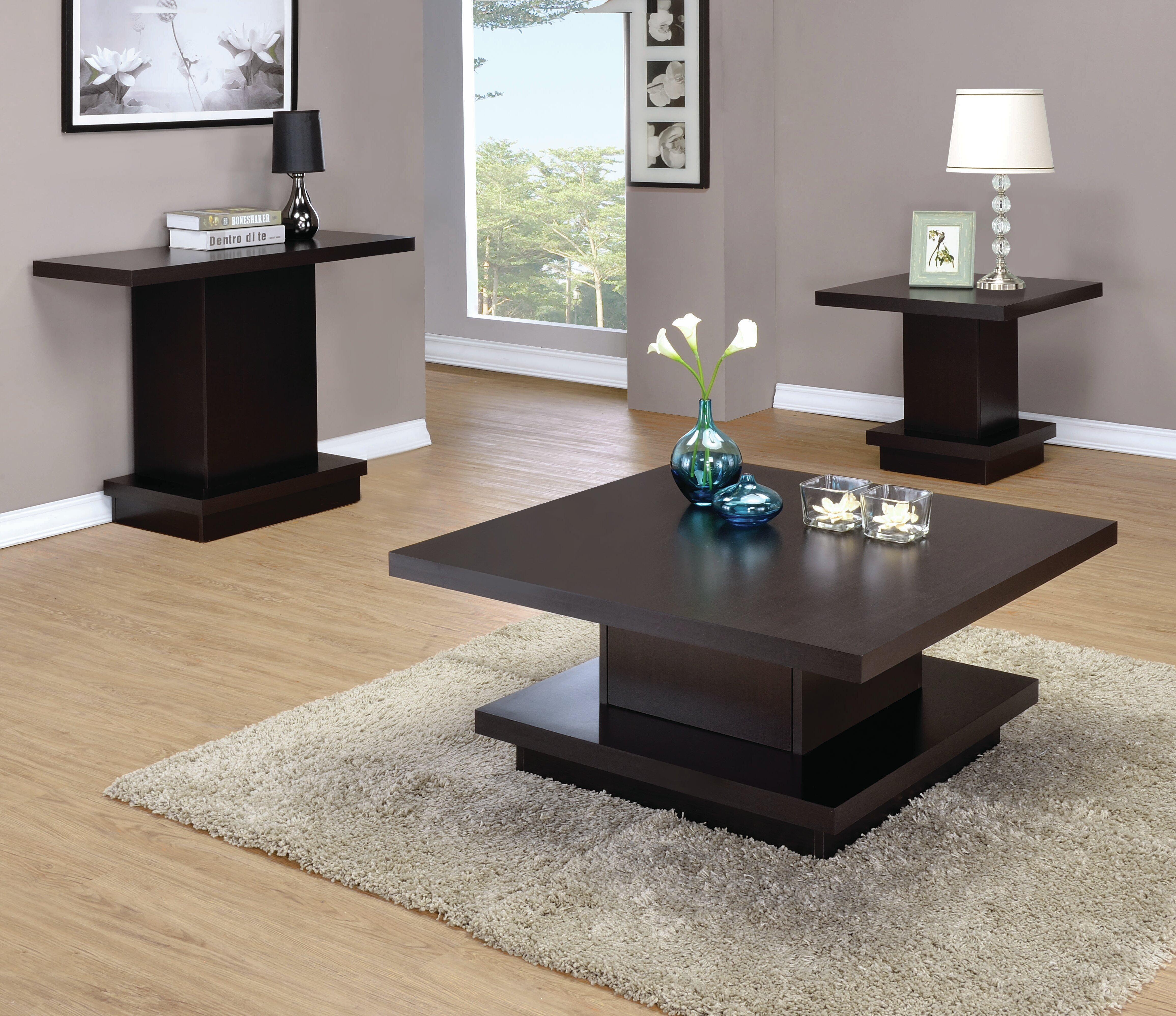 Kassidy 3 Piece Coffee Table Set
