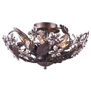 Viv + Rae Alta Floral 6-Light Semi Flush Mount