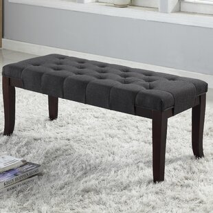 Roundhill Furniture Linion Bench