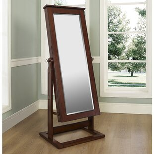 Cassell Jewelry Armoire with Mirror by Alcott Hill