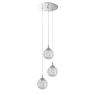 Solaro 3-Light Pendant by Kendal Lighting