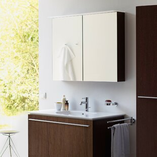 Affordable Price 31.5 x 29.88 Surface Mount Medicine Cabinet with Lighting By Duravit