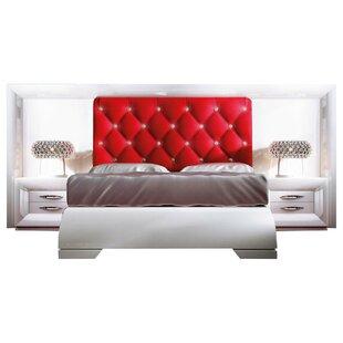 Konieczny Special Headboard Panel 4 Piece Bedroom Set