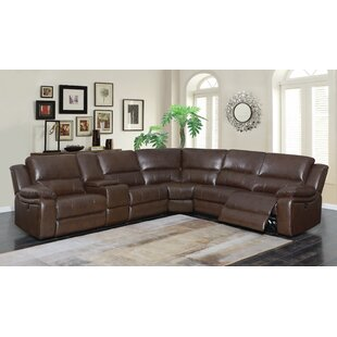 Kansas Reclining Sectional by Loon Peak Discount