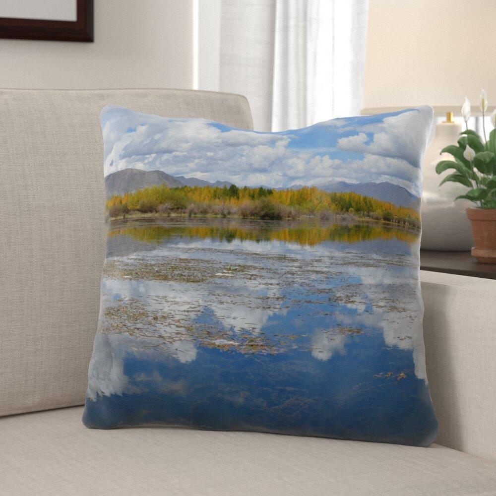 Millwood Pines Haylee Pond Throw Pillow Wayfair