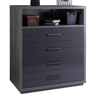 Columbia 4 Drawer Chest By Ebern Designs