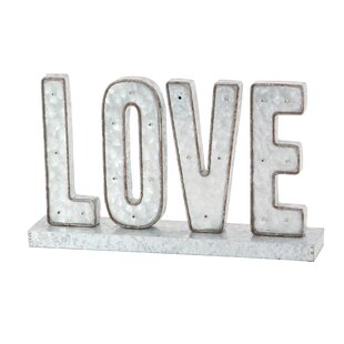 Modern Love LED Marquee Sign By Gracie Oaks