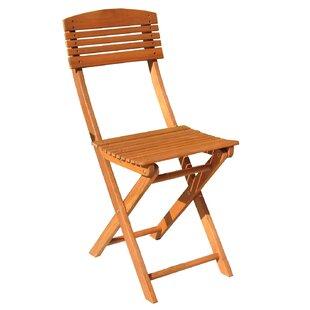 Review Galvan Foldable Garden Chair Set (Set Of 2)