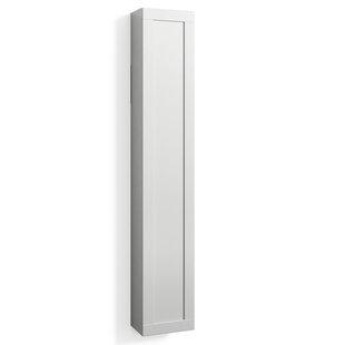 Pritchard 40 X 172cm Wall Mounted Tall Bathroom Cabinet By Ebern Designs
