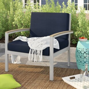 Hillard Teak Patio Chair with Cushions