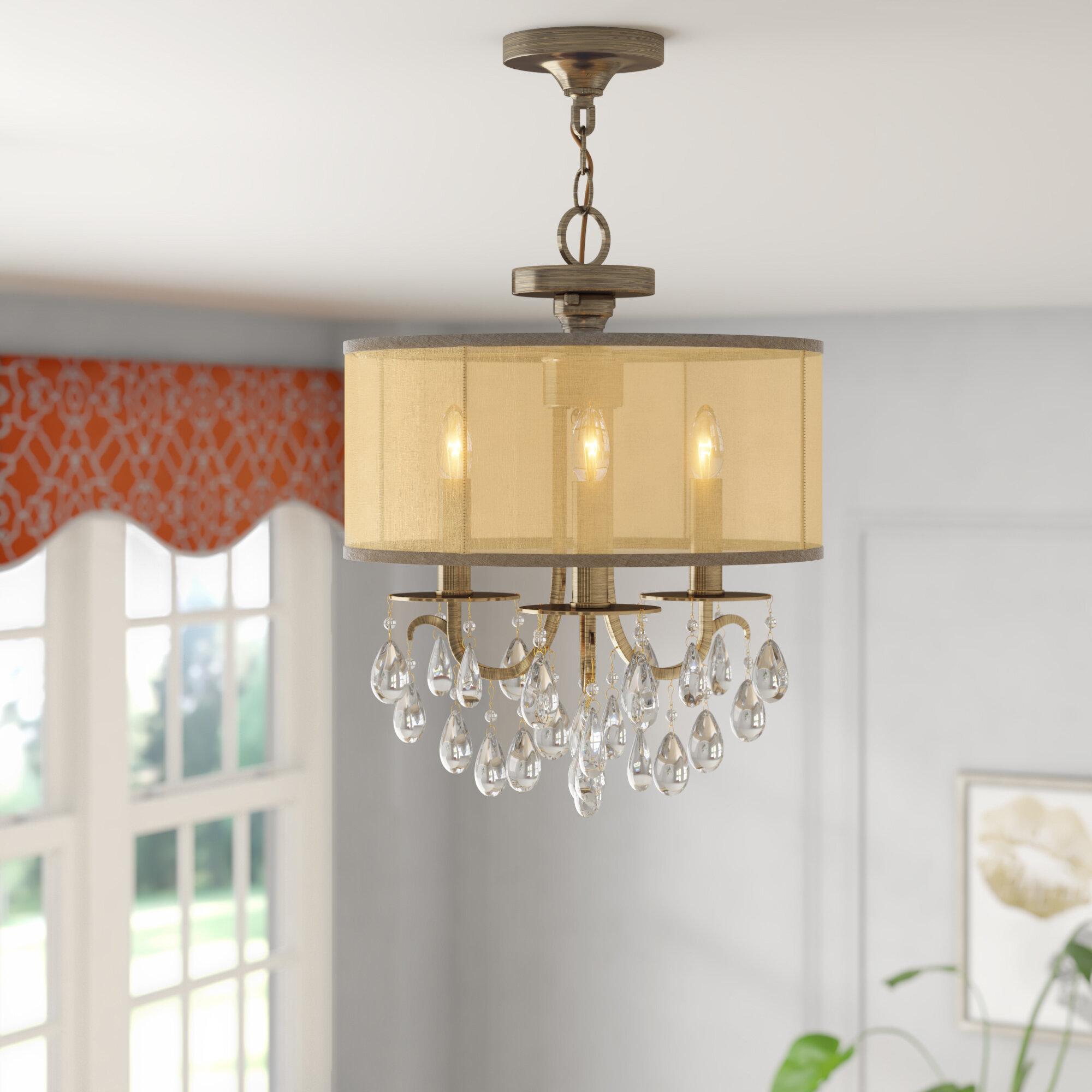 Willa arlo interiors aayush 3 light chandelier reviews wayfair