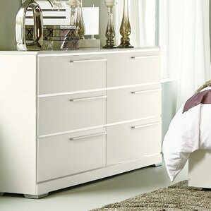 Stauffer 6 Drawer Double Dresser by Latitude Run