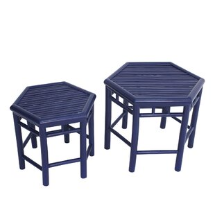 Kapono 2 Piece Side Table Set by Bloomsbury Market Top Reviews
