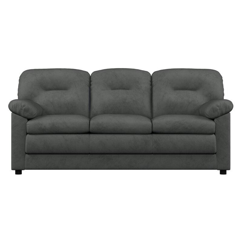 Red Barrel Studio Mcallister Microfiber 79 Pillow Top Arm Sofa Reviews Wayfair
