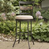 Howland Bar & Counter Swivel Indoor/Outdoor Stool by Red Barrel Studio®