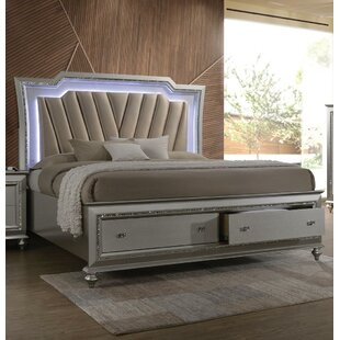 Dehon Upholstered Storage Platform Bed
