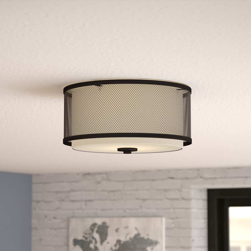 Mercury Row Birchfield 3-Light Flush Mount & Reviews | Wayfair