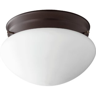 Quorum 1-Light Flush Mount
