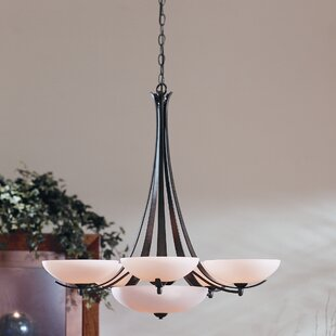 Hubbardton Forge Aegis 6-Light Shaded Chandelier