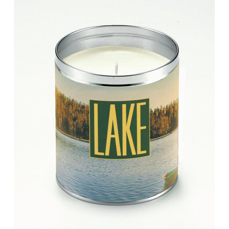 Aunt Panoramic Lake Ocean Scented Jar Candle Wayfair