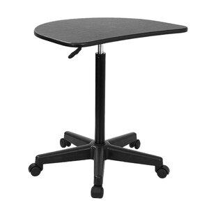 Ebern Designs Devonne Oval Desk