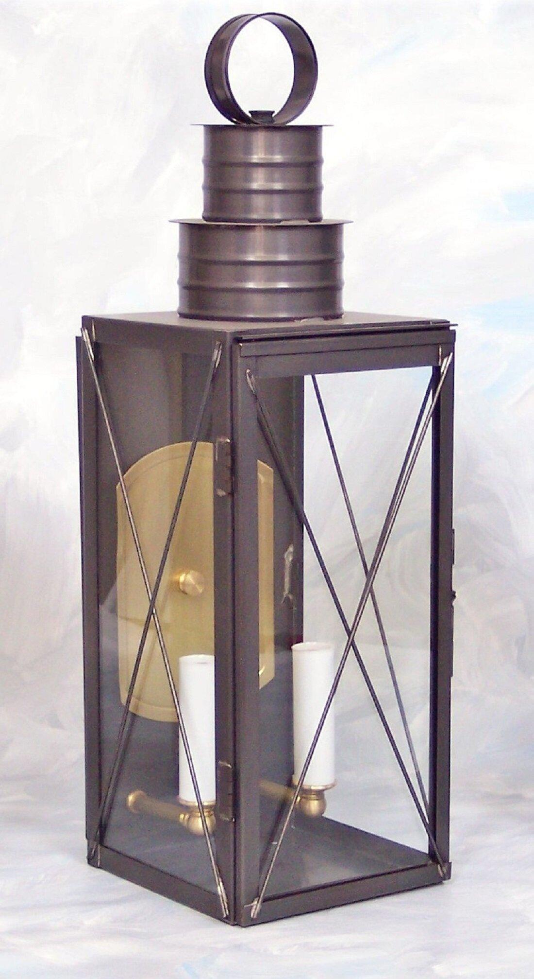 George Oliver Maggard 2 Light Outdoor Wall Lantern Wayfair