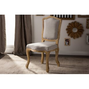 Buy clear Brisa French Upholstered Dining Chair by Ophelia & Co. Reviews (2019) & Buyer's Guide