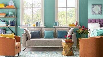 9 Colorful Living Room Ideas | Wayfair