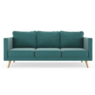 Coutu Mod Velvet Sofa by Corrigan Studio Wonderful