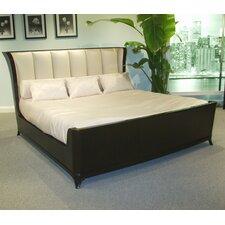Mid Town King Upholstered Platform Bed by Eastern Legends