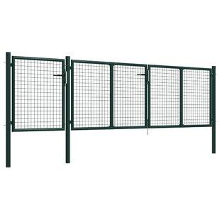 Adare Garden 13' X 4' (4m X 1.25m) Metal Gate By Sol 72 Outdoor