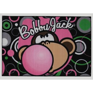 Bobby Jack Bubble Gum Area Rug