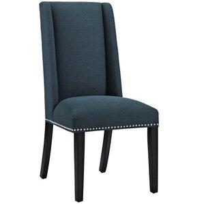 Battey Vinyl Dining Parsons Chair (Set of..