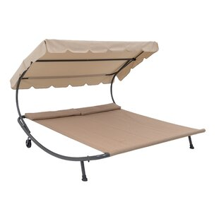 Free Standing Patio Porch Backyard Two Person Stationary Hammock by TrueShade™ Plus