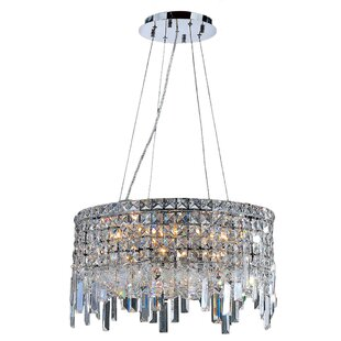 Willa Arlo Interiors Anjali Modern 12-Light Chandelier