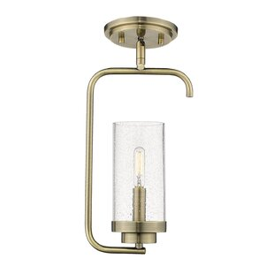 Ward 1-Light Novelty Pendant by Wrought Studio