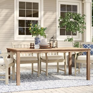 Montclair Wooden Dining Table