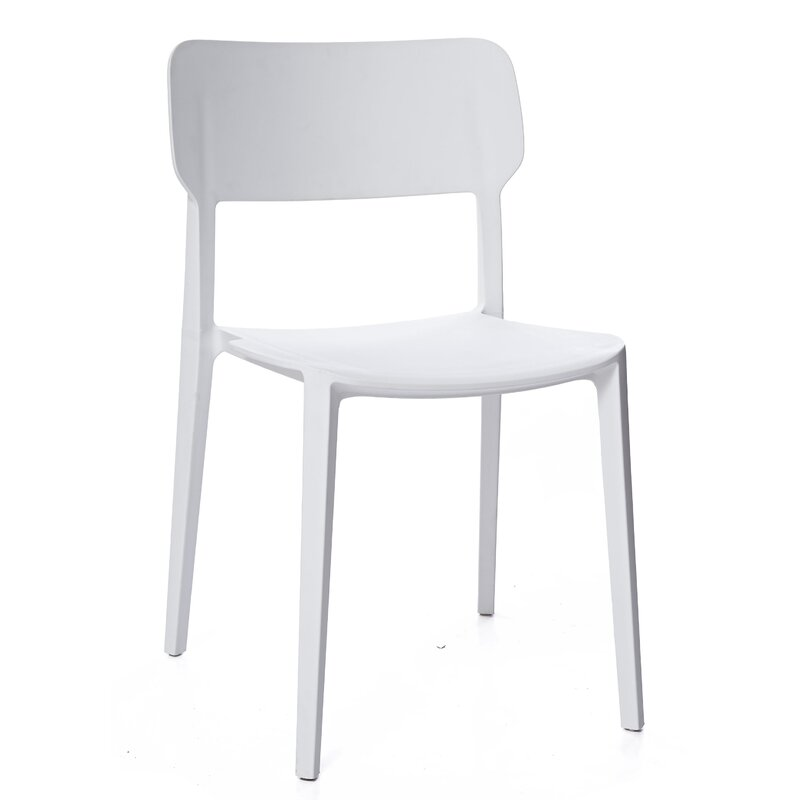 Gourley Modern Stackable Dining Chair