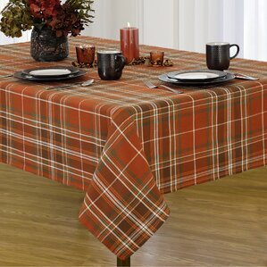 Perfect Dorinne Plaid Tablecloth