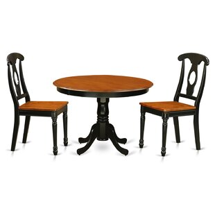 Travis 3 Piece Dining Set by August Grove