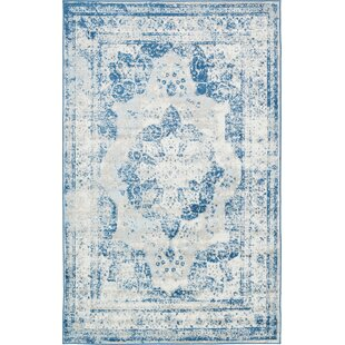 Low priced Brandt Tibetan Blue Area Rug By Mistana