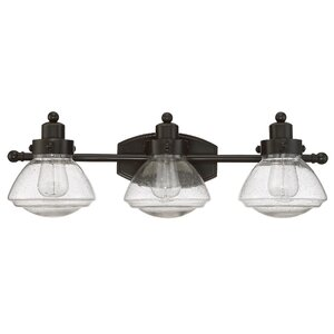 Chilton Palladian Bronze 3-Light Vanity Light