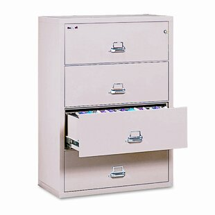 FireKing Fireproof Insulated 4-Drawer Lat..